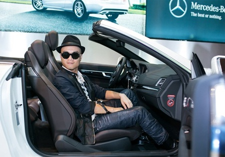 NTK Đỗ Mạnh Cường là một thành viên tiêu biểu của CLB Người nổi tiếng sử dụng xe Mercedes-Benz