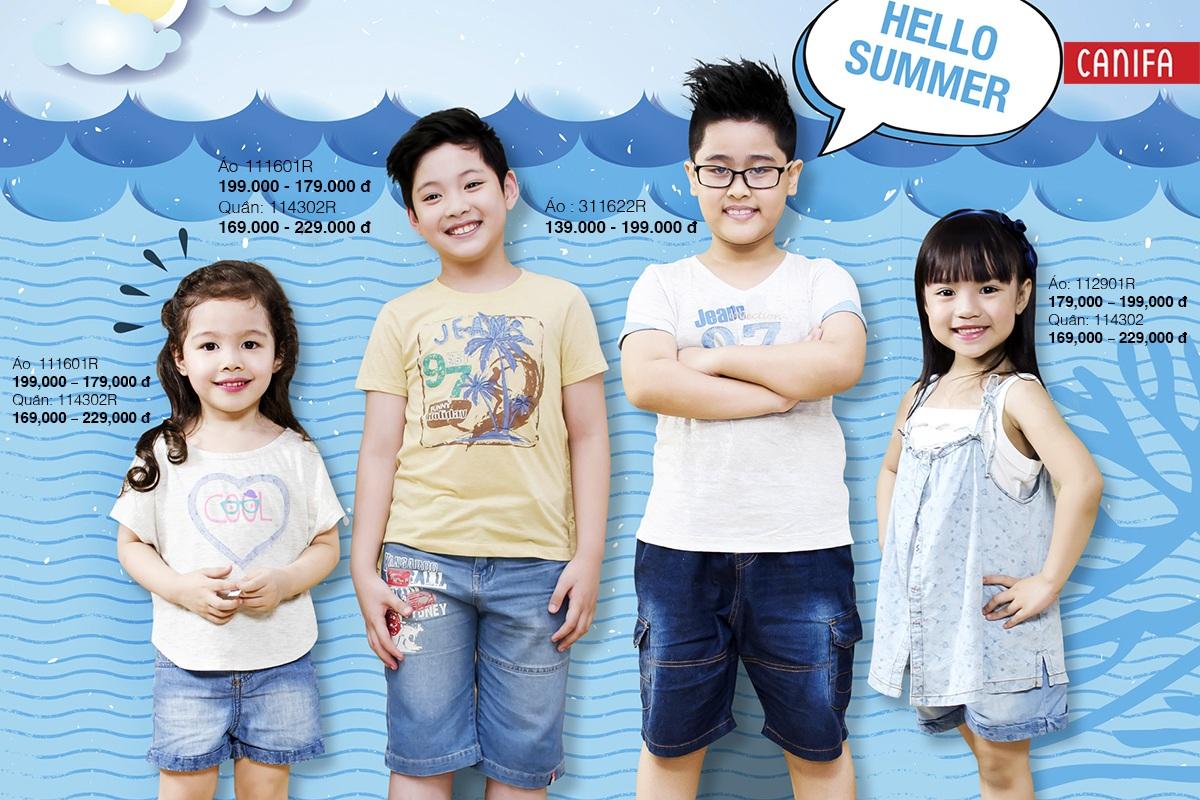 Hãy cùng Denim of kids chào đón mùa hè sôi động!