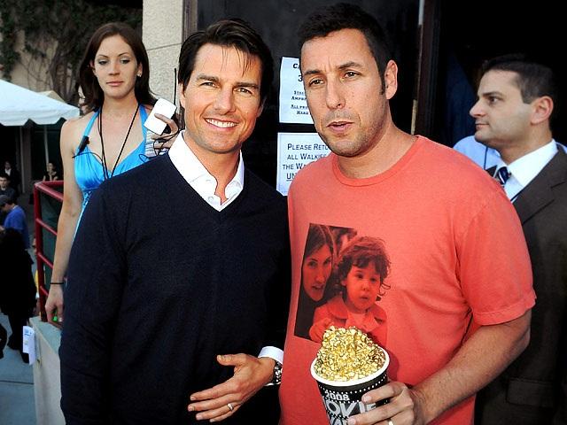 Năm 2008, Tom vàAdam Sandler tham dự lễ trao giải MTV Movie Awards