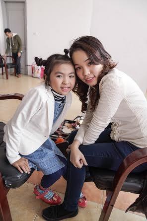 Chuyên gia trang điểm Hoàn Khang vốn rất yêu trẻ con