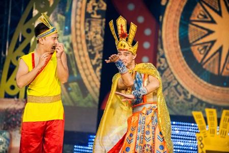 Xuân Bắc làm vua Hùng vẫn vô cùng hài hước