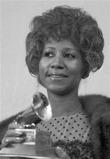 Danh ca Aretha Franklin từng giành 18 giải Grammy