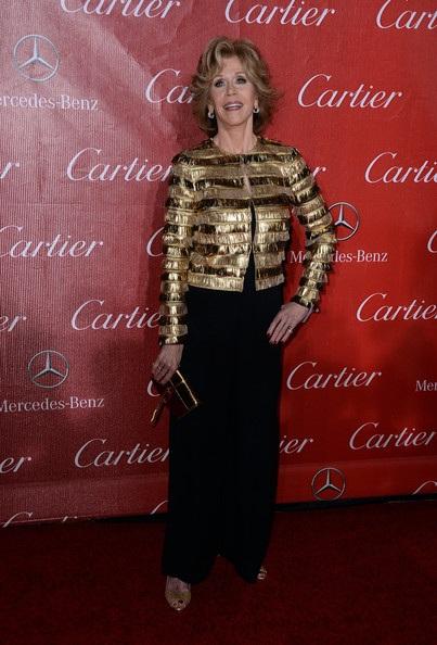 Jane Fonda trẻ hơn nhiều so với tuổi 76