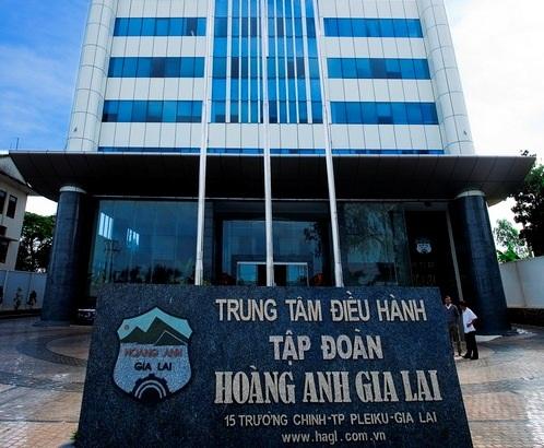 Phần nợ vay ngắn hạn ngân hàng của HAGL đã giảm mạnh.