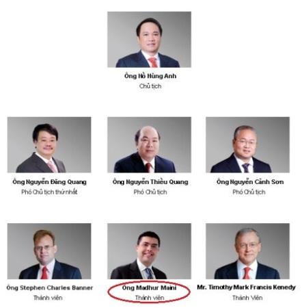 Các thành viên điều hành Techcombank hầu hết đều giữ chức vụ lớn ở Masan.