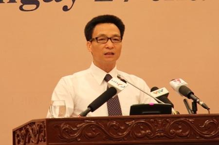 Bộ trưởng, Chủ nhiệm VPCP Vũ Đức Đam (Ảnh: BD).