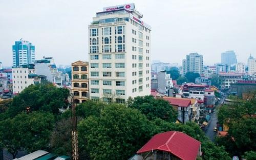 Hội sở cũ của Techcombank trên đường Bà Triệu