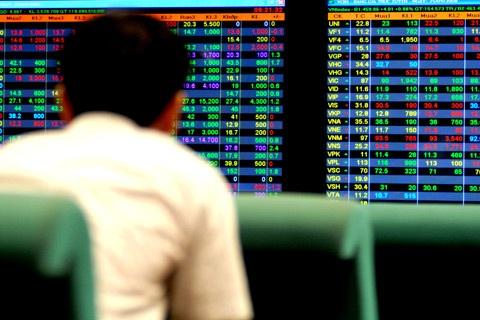 Diễn biến giá của các cổ phiếu trên sàn chịu ảnh hưởng bởi thông tin trong mùa báo cáo tài chính.