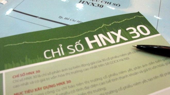 Thanh khoản rổ HNX30 chiếm 3/4 sàn Hà Nội.