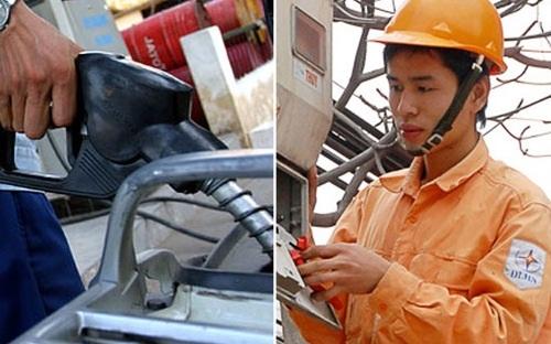 Xăng dầu và điện là những mặt hàng có sức ảnh hưởng tới số đông đời sống kinh tế xã hội.