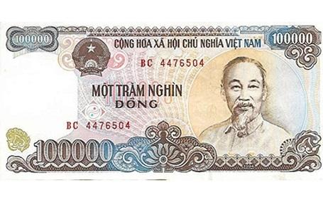 Hình ảnh Đồng Việt Nam được Telegraph minh hoạ trong bảng xếp hạng hiện đã không còn lưu hành