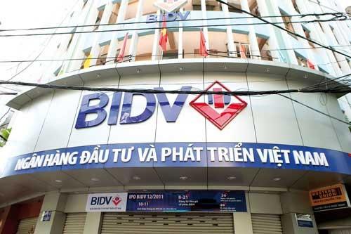 Lãi suất giảm song tiền huy động của BIDV vẫn tăng hơn 10% và thu nhập lãi tăng mạnh.