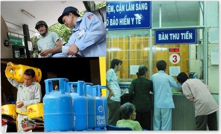 Việc điều chỉnh giá dịch vụ công và nhiên liệu đang đè nặng áp lực lên CPI cả các tháng tới.