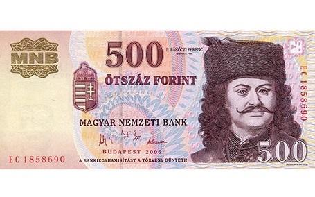 Forint của Hungary.