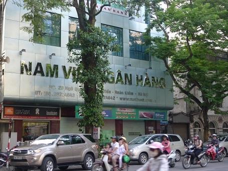 Navibank là một trong những ngân hàng yếu kém thuộc diện tái cơ cấu bắt buộc (ảnh: Mai Chi).