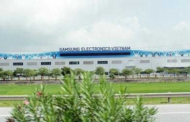 Nhà máy Samsung xây dựng tại Bắc Ninh
