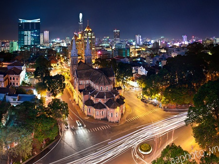 TPHCM đang là thành phố năng động nhất trên cả nước (Ảnh: Nguyễn Thế Dương).