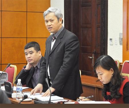 Tổng cục trưởng Tổng cục Thống kê Nguyễn Bích Lâm.