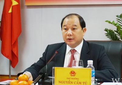 Thứ trưởng Bộ Công Thương Nguyễn Cẩm Tú.