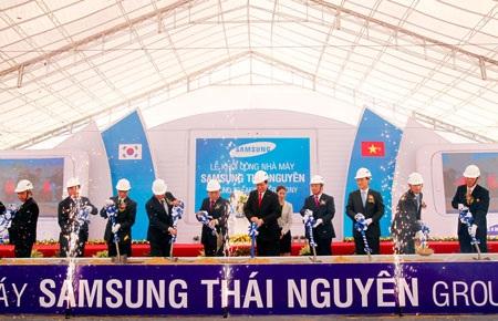 Samsung giúp Thái Nguyên giành giải quán quân hút vốn FDI