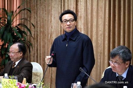Phó Thủ tướng Nguyễn Đức Đam (Ảnh: BD).