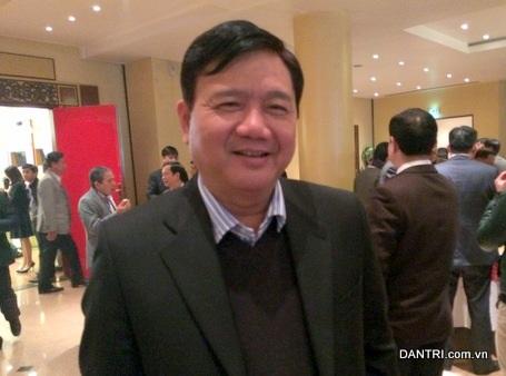 Bộ trưởng Bộ Giao thông Vận tải Đinh La Thăng (ảnh: Bích Diệp).