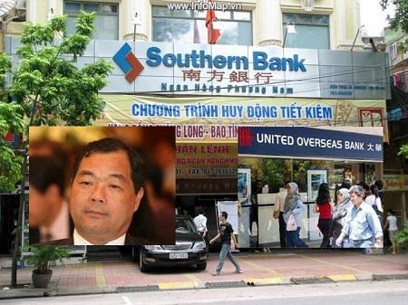 Gia đình ông Trầm Bê đang sở hữu trên 20% Southern Bank.