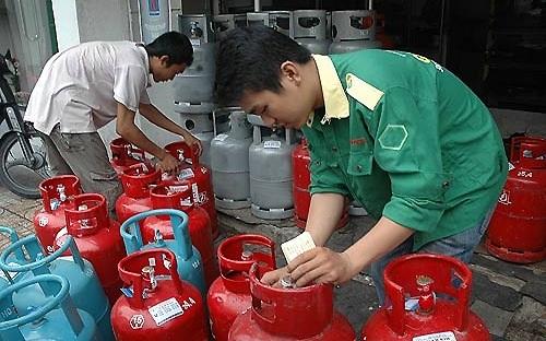 Giá gas giảm hồi đầu tháng đã tác động khá mạnh lên diễn biến CPI tháng 4.