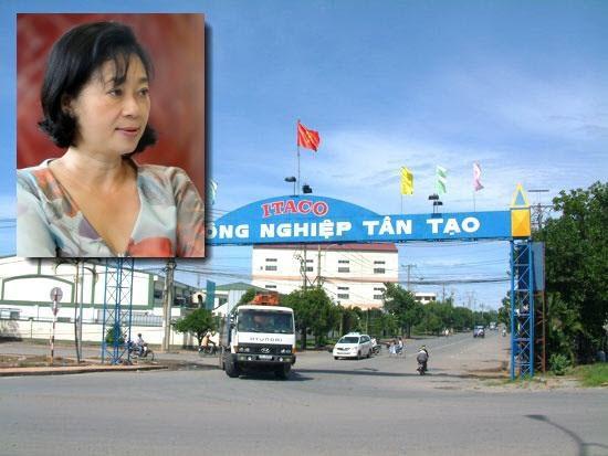 Bà Đặng Thị Hoàng Yến - Chủ tịch HĐQT Tập đoàn Tân Tạo.