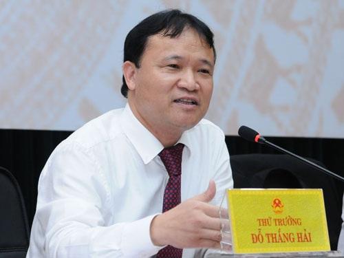 Ông Đỗ Thắng Hải - người phát ngôn của Bộ Công thương.