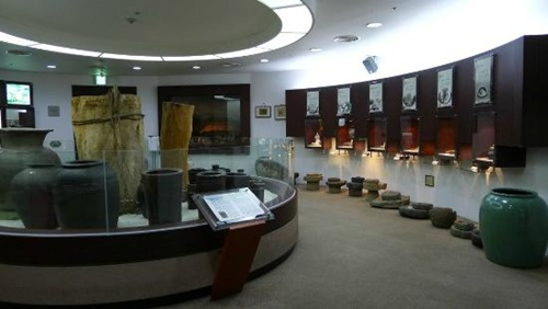Một góc bảo tàng kim chi