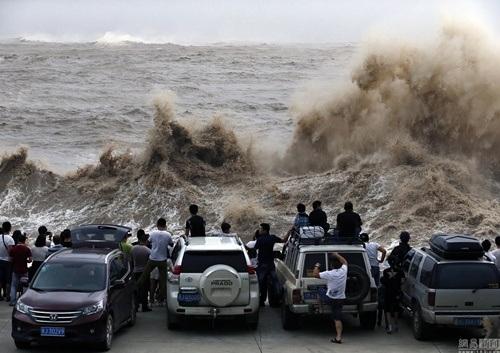 Đây là cơn bão lớn thứ 2 đổ bộ vào Trung Quốc chỉ trong vài ngày.
