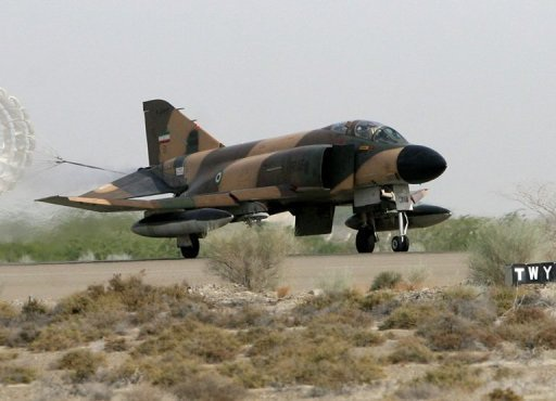 Một chiếc máy bay chiến đấu F-4 Phantom.