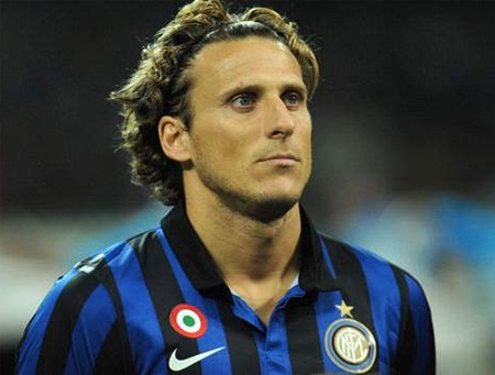 Forlan có thể sẽ chuyển sang thi đấu cho Milan, nếu Inter không còn cần anh
