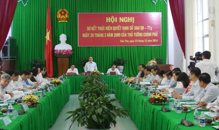 Phó Thủ tướng Vũ Văn Ninh chủ trì hội nghị