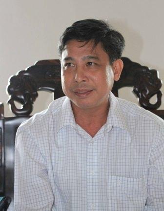 Ông Đồng Văn Thanh - Phó chủ tịch UBND tỉnh Hậu Giang trả lời báo chí về việc thực hiện
