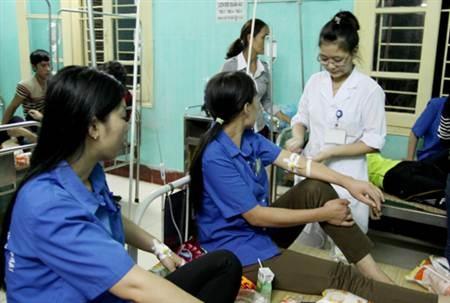 Hầu hết sức khỏe các công nhân đều đã ổn định và có thể xuất viện (Ảnh: Báo Bắc Giang).