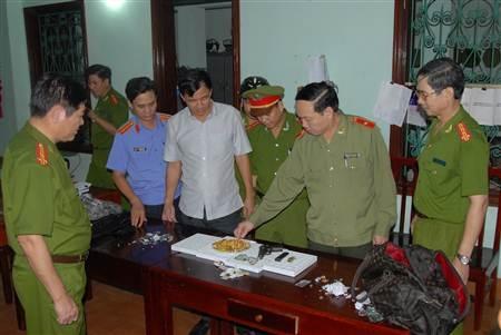 Thiếu tướng Nguyễn Văn Khuông, Giám đốc Công an tỉnh Hà Nam trực tiếp chỉ đạo vụ án.
