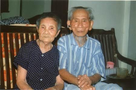 Cặp vợ chồng cao tuổi nhất châu Á là cụ Cao Viễn (SN 1908) và cụ Vũ Thị Hai (SN 1914).