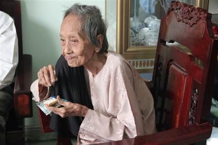 Cụ bà Nguyễn Thị Trù được xác lập Kỷ lục châu Á.