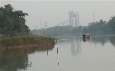 Khu vực sông Thương bị bức tử.