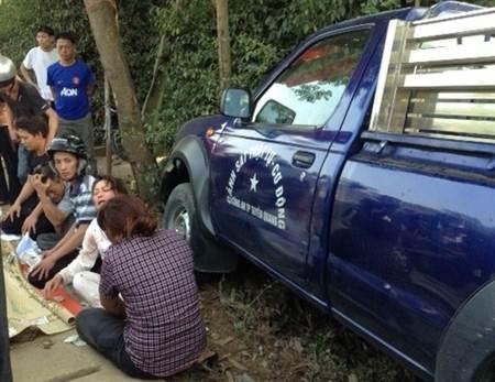 Hiện trường vụ TNGT nghiêm trong khiến 2 người tử vong tại Tuyên Quang.