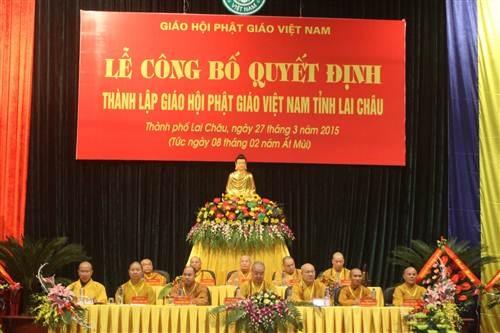 Lai Châu là địa phương cuối cùng trong cả nước được thành lập GHPGVN cấp tỉnh.