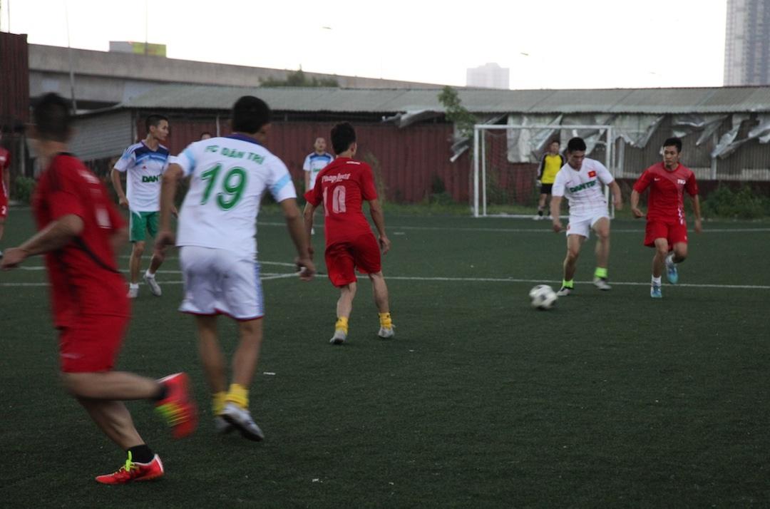 Trân thắng của FC Dân trí tại giải đấu vào chiều ngày 6/6.