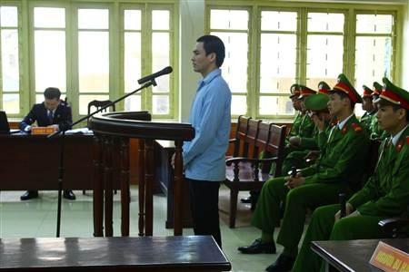 Lý Nguyễn Chung tại một phiên tòa xét xử.