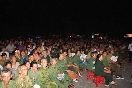 Đoàn đại biểu tham dự đêm nghệ thuật Đồng Lộc - Cõi thiêng bất tử