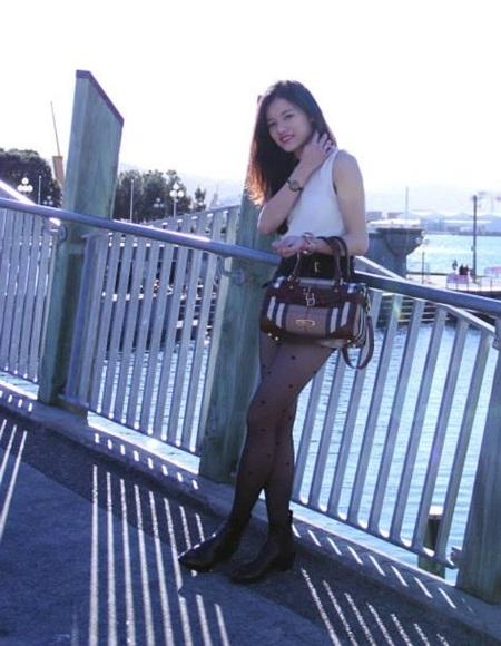 Phong cách thời trang ngày thường của Võ Thị Thuỳ Trang rất trẻ trung,