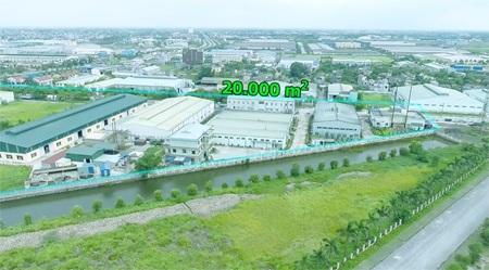 Nhà máy Nam Dược có quy mô diện tích lên tới 20.000m2