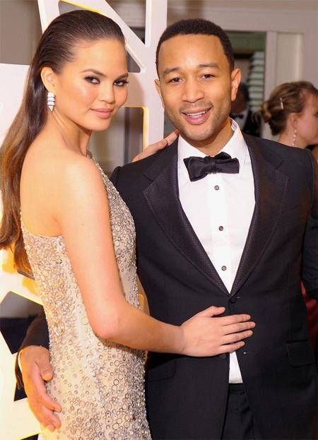 Đôi vợ chồng hạnh phúc John Legend và Chrissy Teigen
