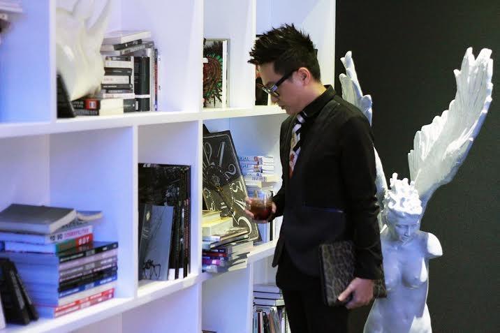 Nguyễn Công Trí gặp gỡ NTK nổi tiếng Jason Wu ở Thượng Hải
